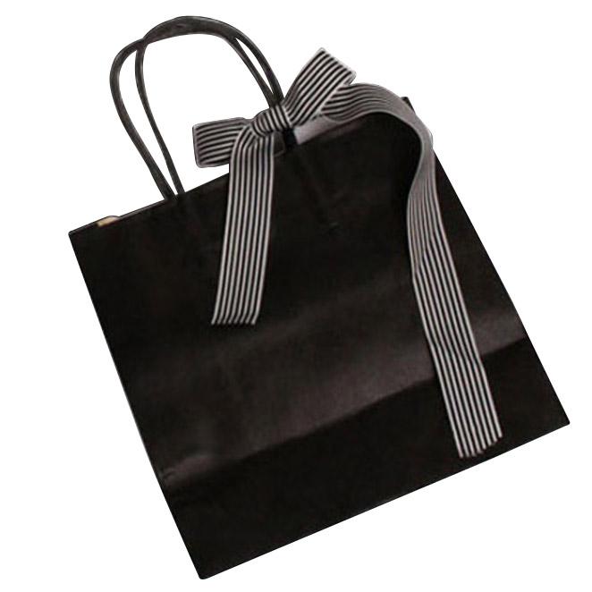 이홈베이킹 종이쇼핑백 8p, 블랙