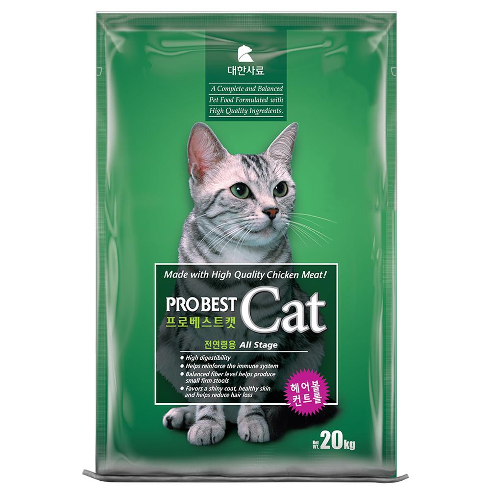 프로베스트 캣 전연령 고양이 사료, 20kg, 1개