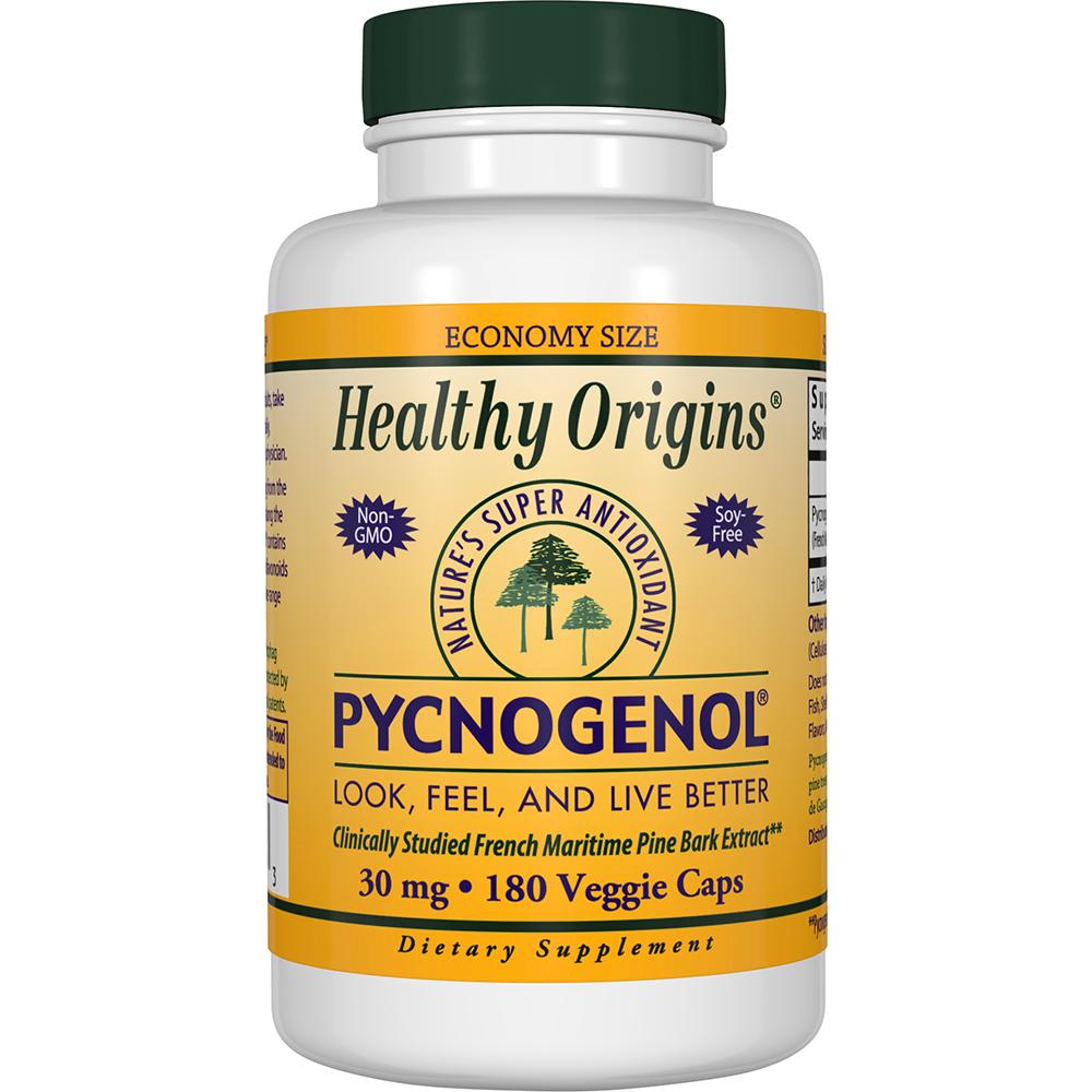Healthy Origins 피크노제놀 30 mg 베지 캡, 180개입, 1개