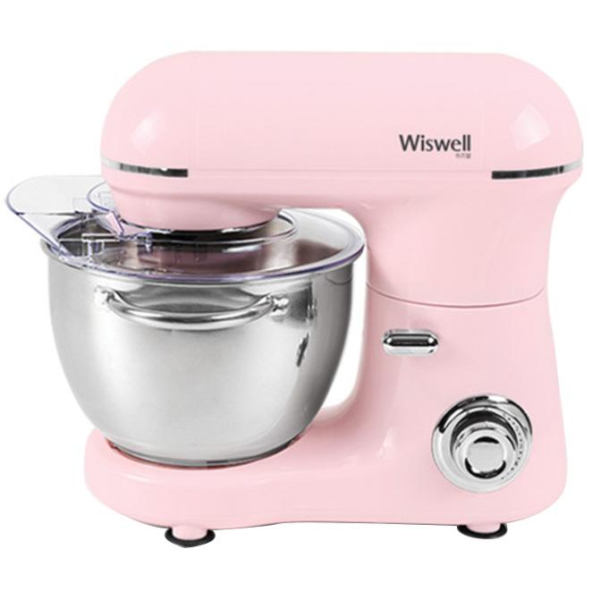 위즈웰 스마트 홈베이킹 스탠드 믹서 핑크 WSS-6835P