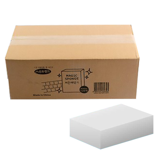 [매직블럭] [딜]세제없이 찌든때닦기 매직블럭, 02. 찌든때닦이 매직스펀지 중형100P (알뜰포장) - 랭킹6위 (7400원)