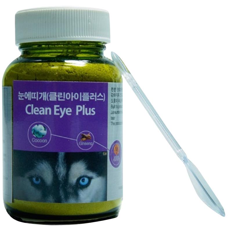 수제명가 눈에띠개 클린아이플러스 애견 눈물영양제 50 g, 1개