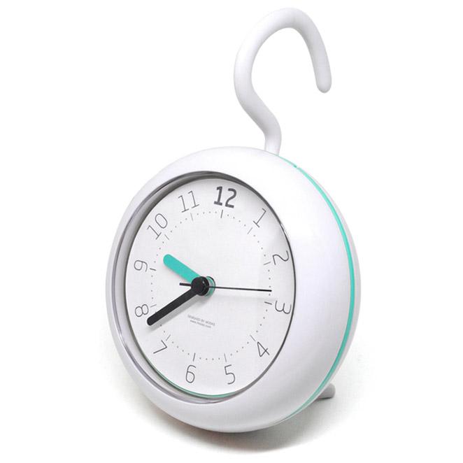 무아스 무소음 욕실 방수 시계, MINT