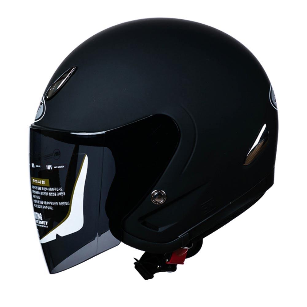 SST 체어맨 오토바이 헬멧, 무광블랙