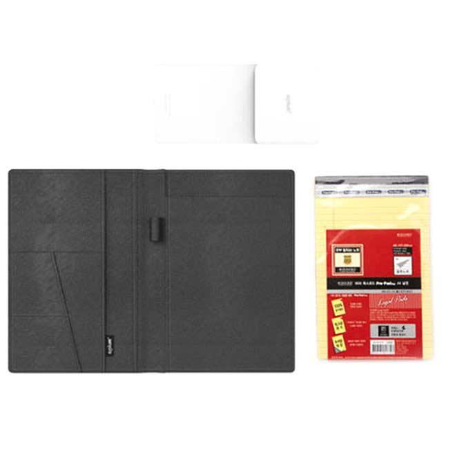 에이플럼 스마트 노트 패드 Ver2, 블랙, 1개