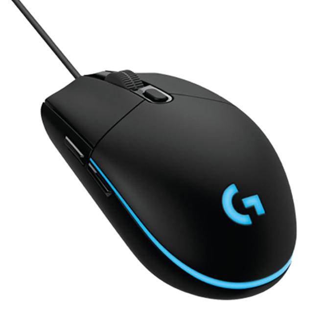 로지텍 게이밍 유선 마우스 PC방 에디션 G102IC Prodigy, 혼합 색상