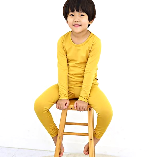 행복한쇼핑몰 아동용 히트업 발열 기모 내의 상하의세트