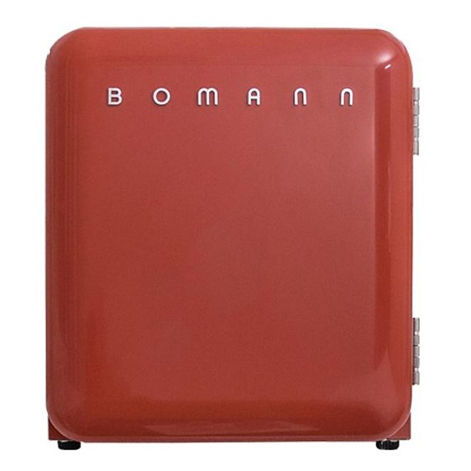 보만 레트로 클래식 냉장고 44L 방문설치, KS2040 (레드)