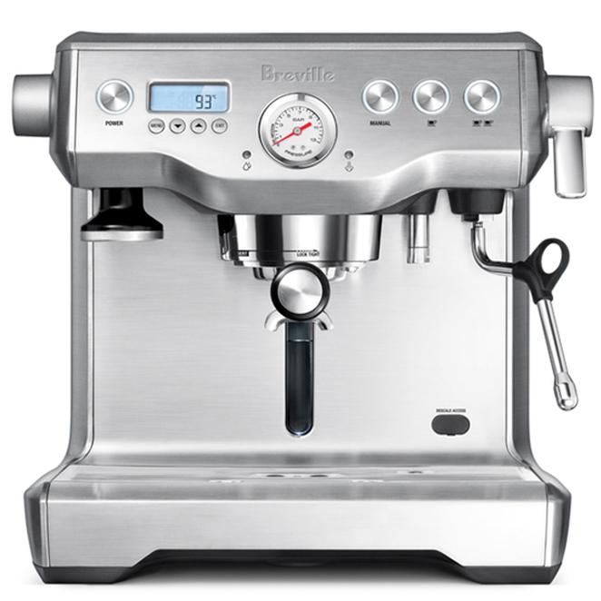 브레빌 듀얼보일러 커피머신 2.5L 실버, BES920