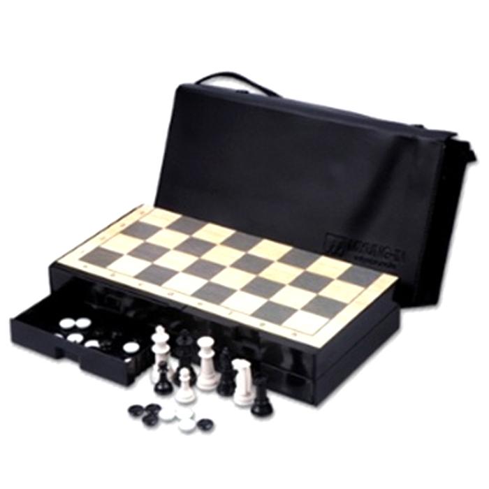 명인랜드 바둑 + 체스 양면 게임 M-250, 1세트