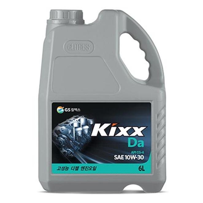KIXX HD 10W30 DA 엔진오일, 1개, 6L