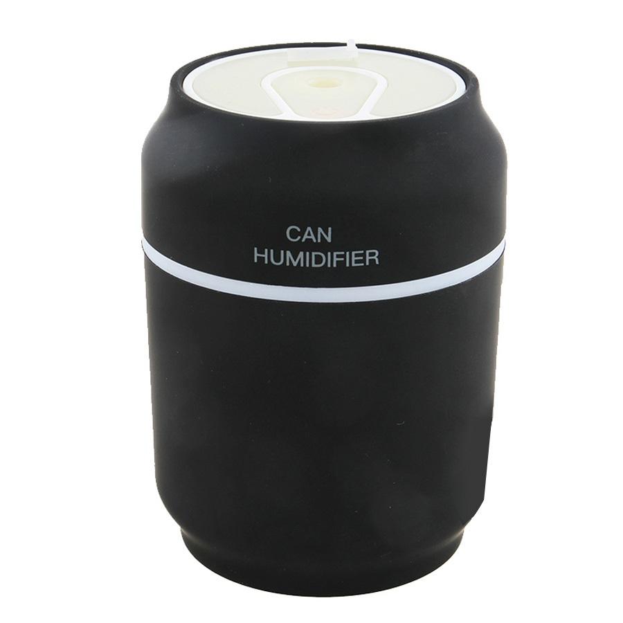 케이스마니아 USB 초음파 캔 미니 가습기 무드등 CH-200, CH-200(블랙)