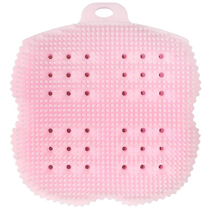 비비또 실리콘 베이비 타월, 핑크, 1개