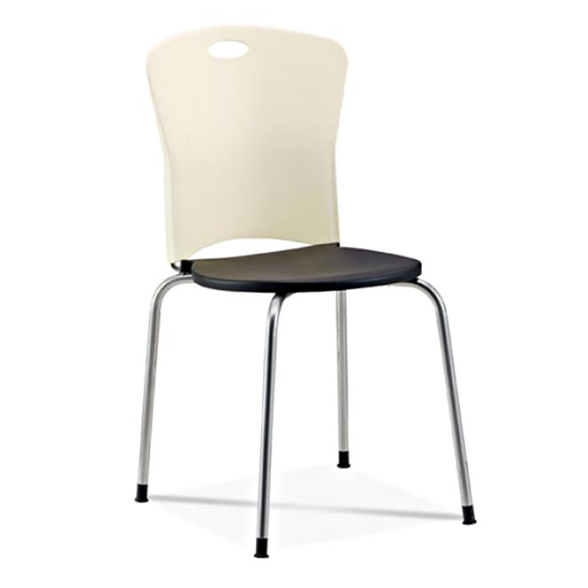 스마트퍼니처 원사출 의자, 아이보리&블랙