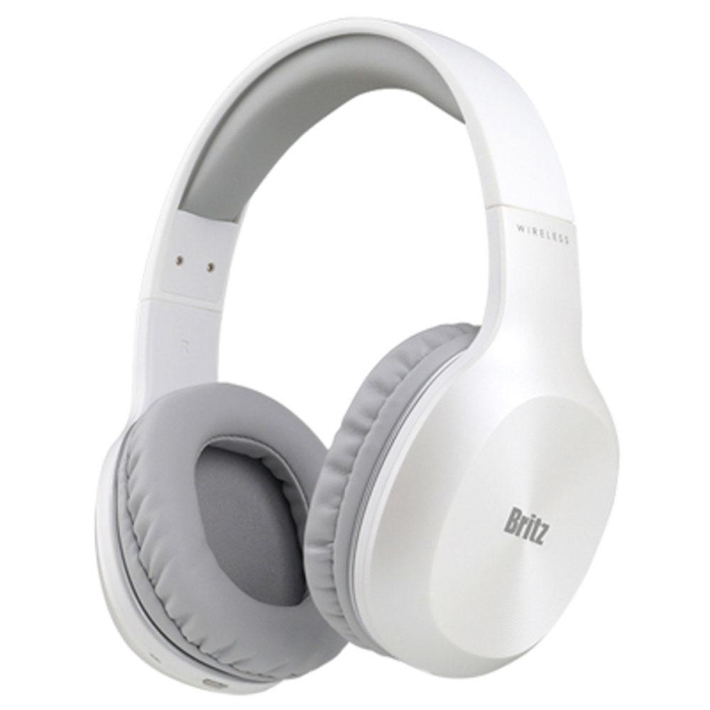 브리츠 유무선 블루투스 헤드폰, White, W800BT Qplus-8-1630349173