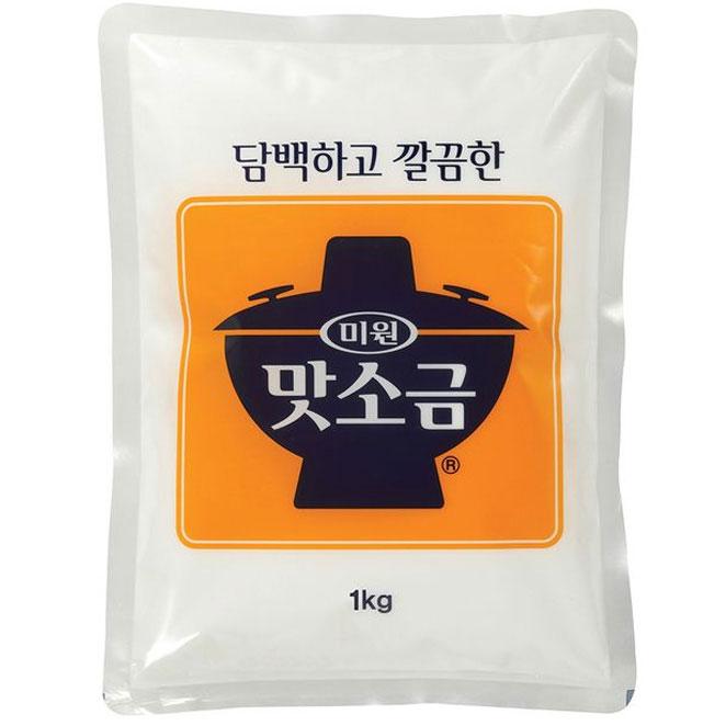 청정원 맛소금, 1개, 1kg