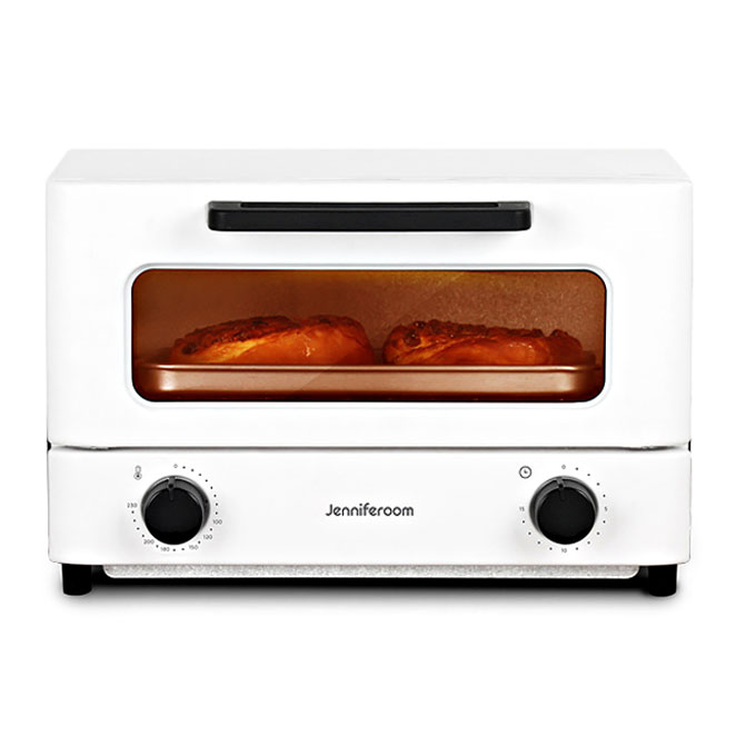 제니퍼룸 컴팩트 오븐 토스터 화이트, JR-OT12WB