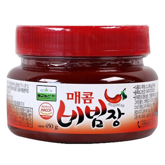 칠갑농산 매콤 비빔장, 450g, 1개