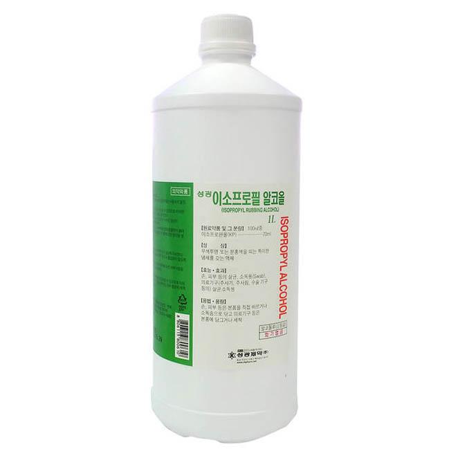 성광 이소프로필알콜 1L, 1개