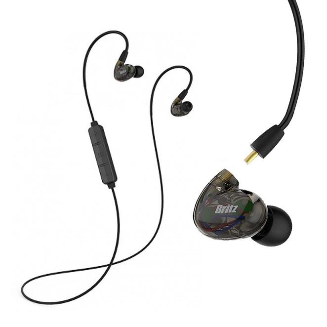 브리츠 듀얼유닛 유무선 겸용 블루투스 이어폰 BE-M660, 혼합 색상
