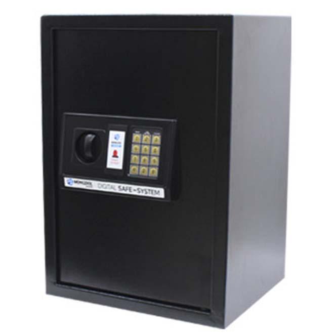 오에이데스크 디지털 충격 감지 안전 금고 50, 블랙