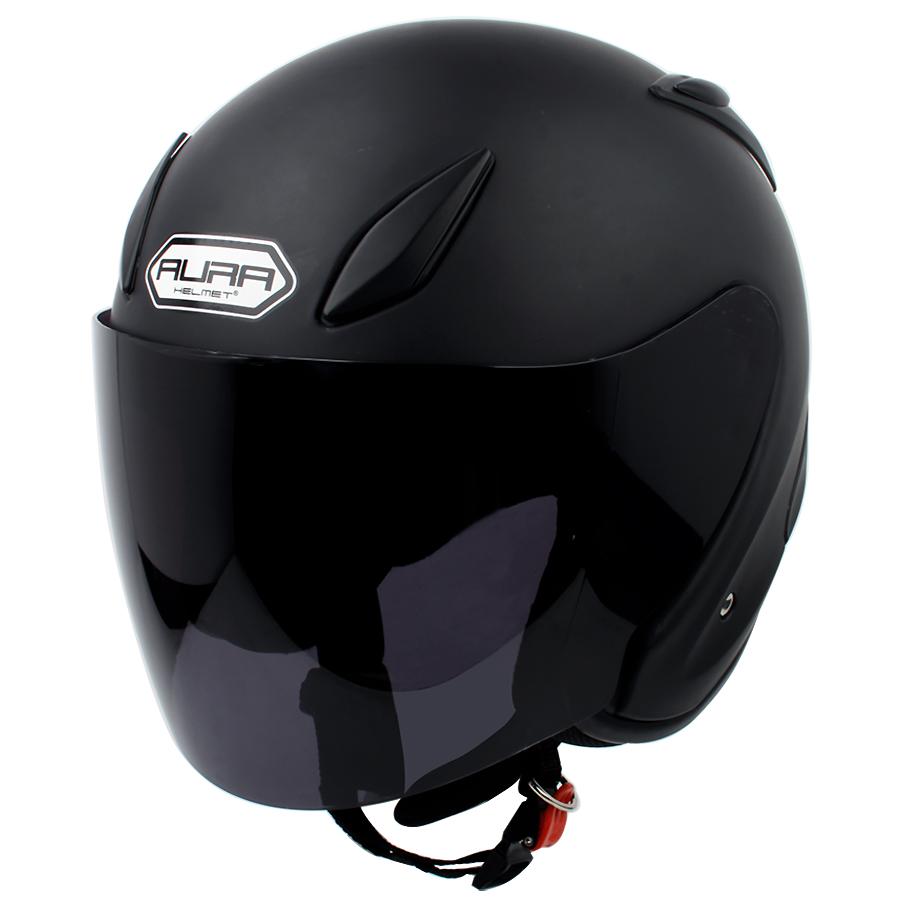 아우라헬멧 아우라3 오토바이 헬멧, 무광블랙