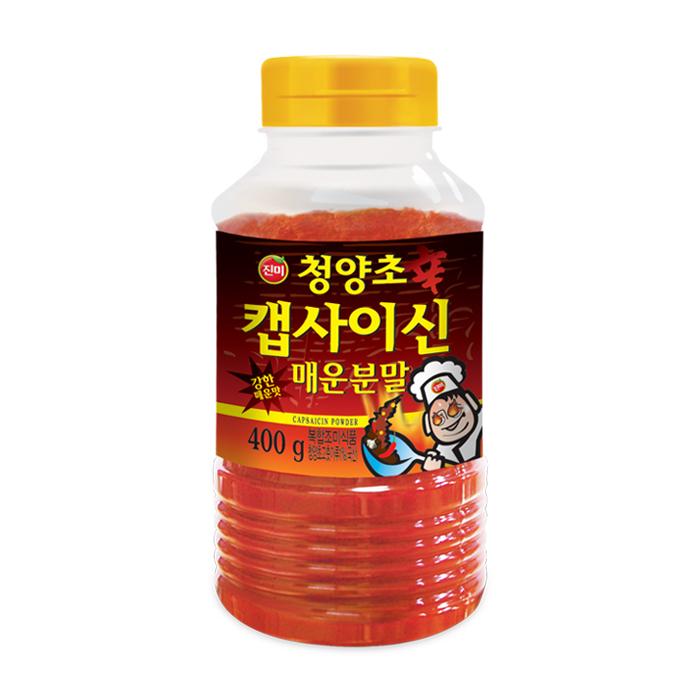 진미 청양초 캡사이신분말 고추, 400g, 1개