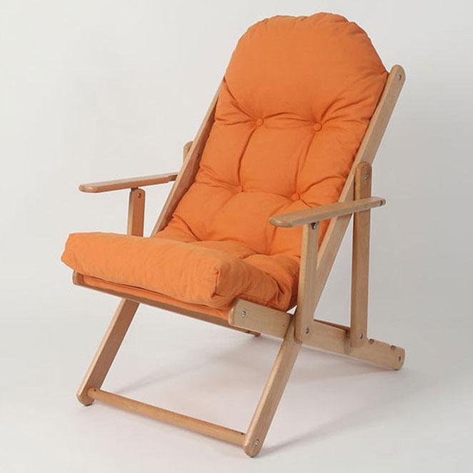 로제까사 릴렉스 접이식 안락의자, 오렌지