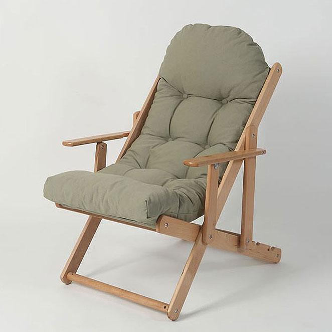 로제까사 릴렉스 접이식 안락의자, 카키그레이