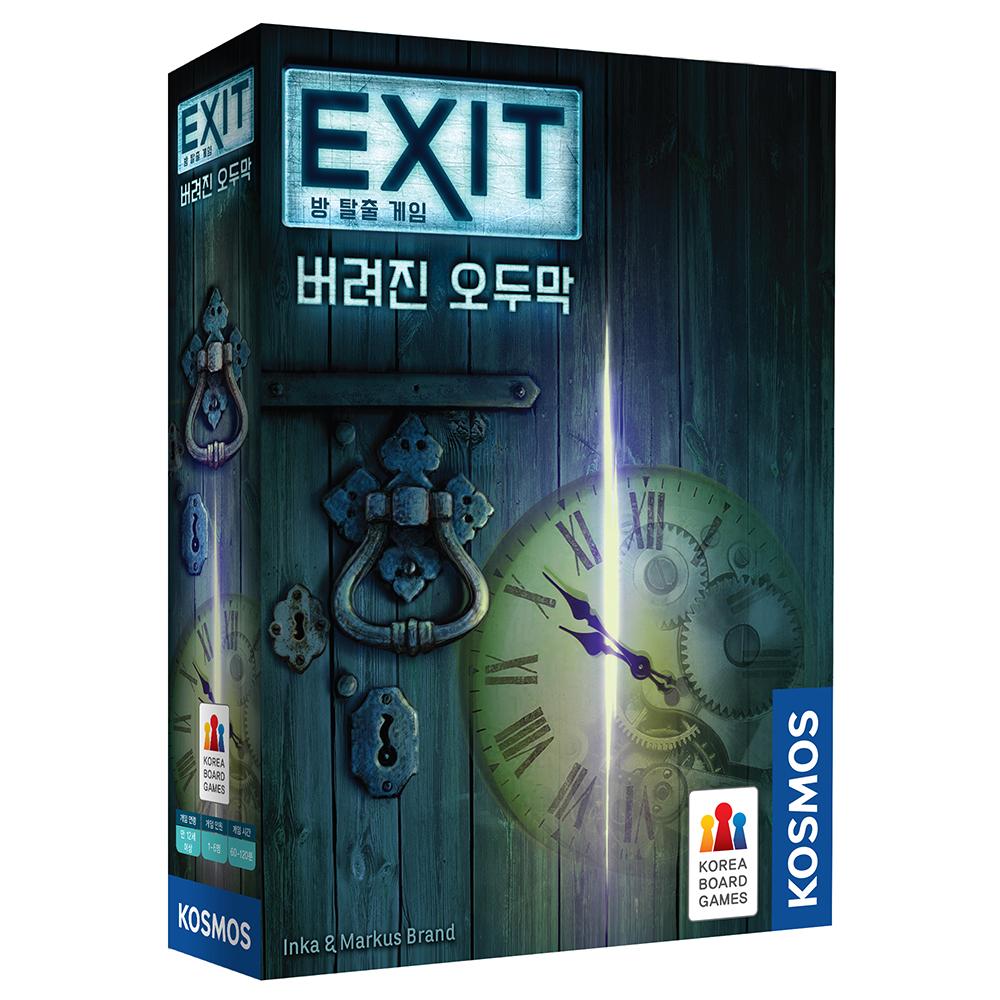 코리아보드게임즈 EXIT 버려진 오두막 방 탈출 게임, 혼합 색상