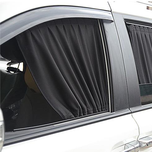 어바인클래스 자동차 햇빛차단 카 커텐 70 x 40 S 단일 색상 1개