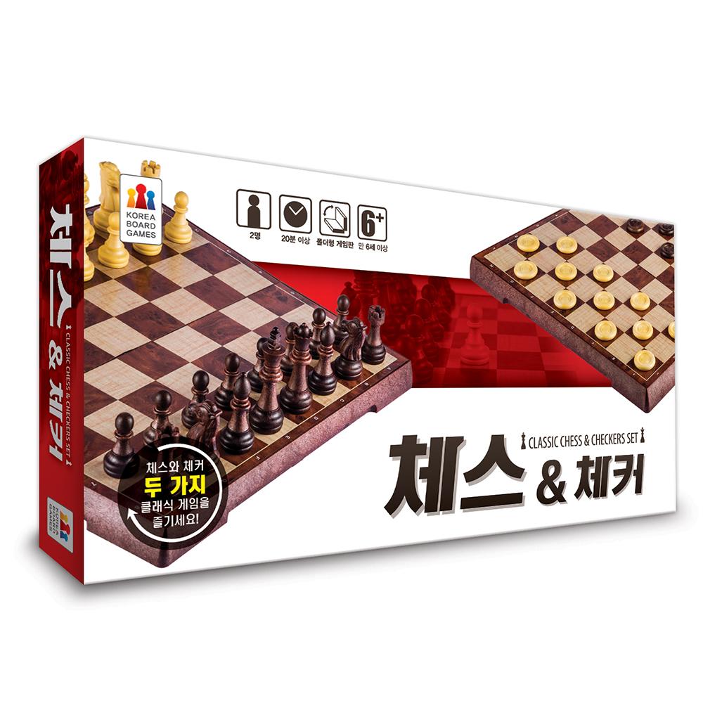 코리아보드게임즈 체스 앤 체커, 1