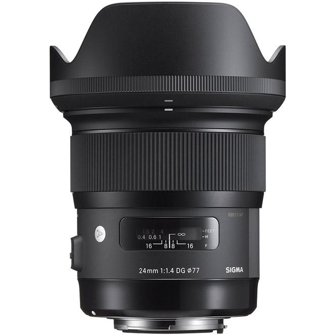 시그마 캐논 마운트 카메라 렌즈 DG HSM 24mm F1.4, A DG HSM (A)