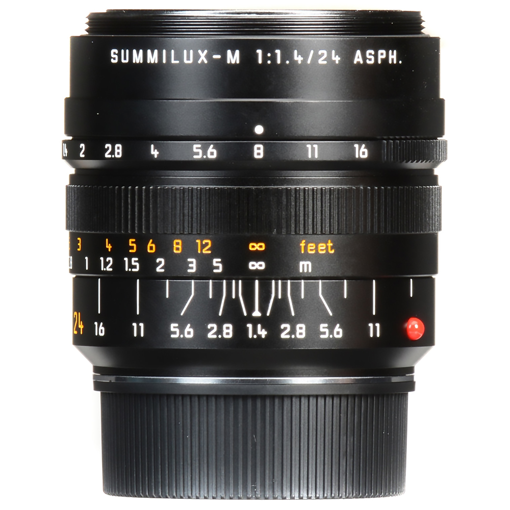 라이카 단렌즈 SUMMILUX-M 24mm f/1.4 ASPH Black