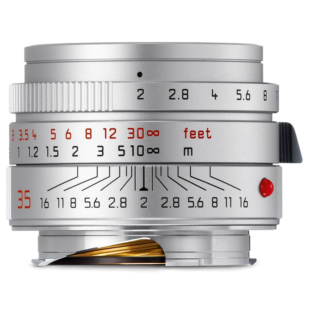 라이카 카메라 단렌즈 SUMMICRON-M 35mm f/2 ASPH, SUMMICRON-M 35mm f/2 ASPH (Silver)