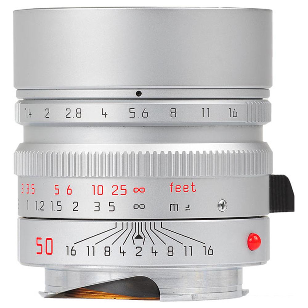 라이카 단렌즈 SUMMILUX-M 50mm f/1.4 ASPH 실버