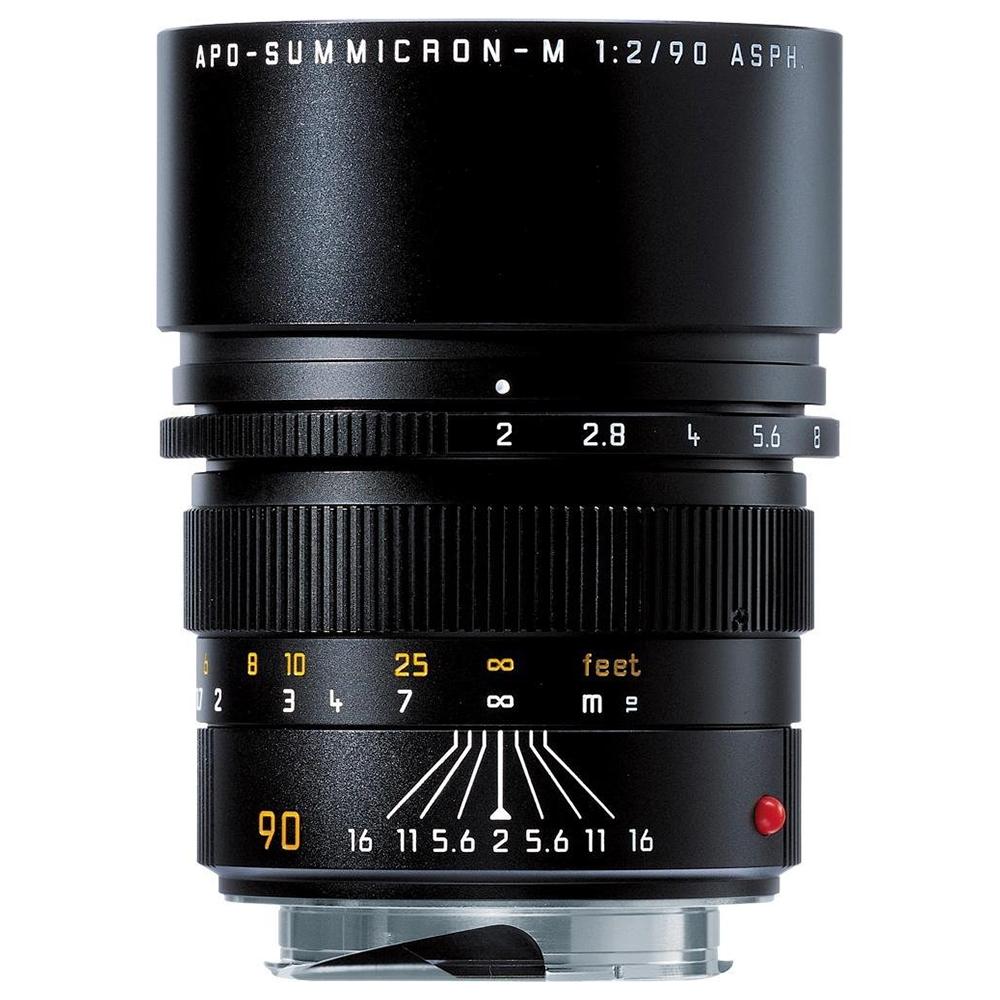 라이카 카메라 렌즈 APO-SUMMICRON-M 90mm f/2 ASPH Black