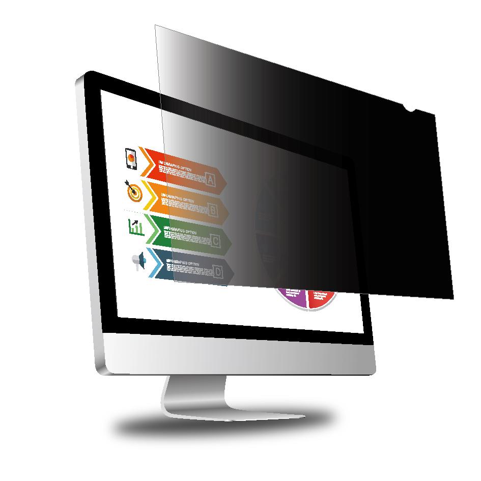 클린에이지 블루라이트 차단 모니터 정보보안필름 24인치 와이드 16:10, 단일 색상, 1개