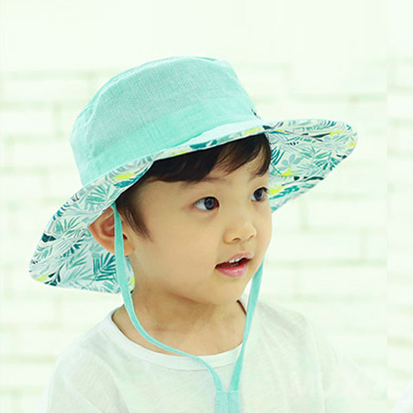 무슈 영유아동 리플 매쉬 사파리 모자