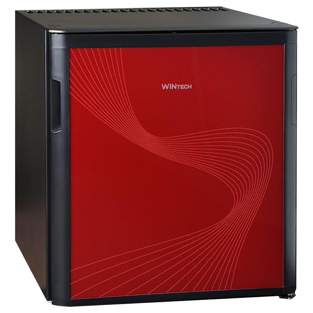 윈텍 무소음 화장품 냉장고 WC-25C, WC-25C(레드)