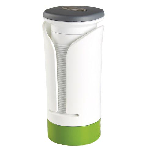 Zyliss 베지터블 회전 채칼, White+Green, 1개