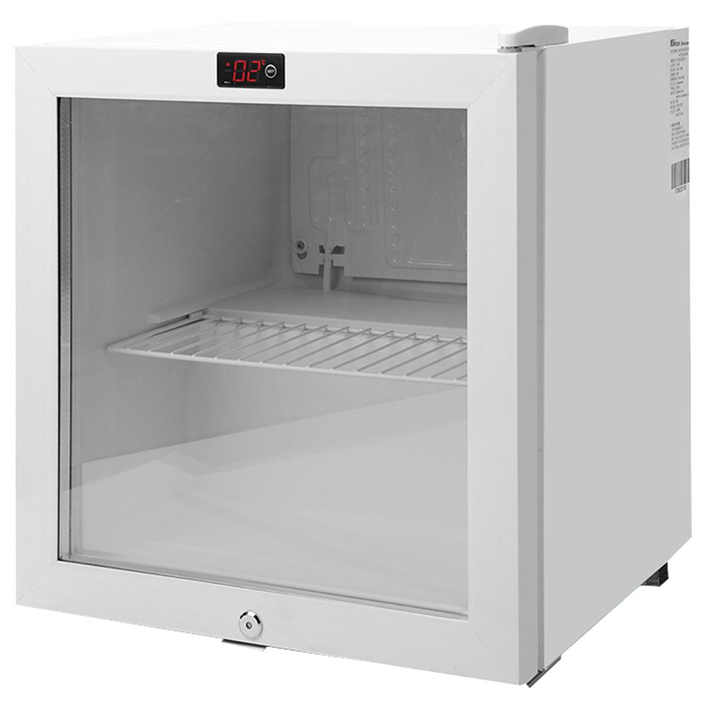 윈텍 디지털 미니 잠금장치 쇼케이스 냉장고 SC-46 (POP 62760024)