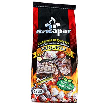 아름다운참숯 브리카파 차콜, 2kg, 1개