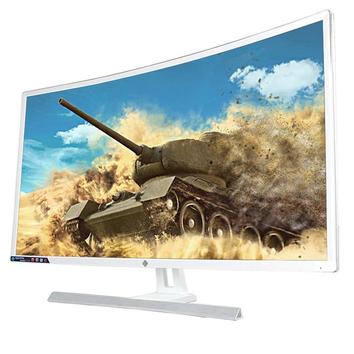 지원아이앤씨코리아 32형 Full HD 파이어볼 강화유리 커브드 모니터 G320EIPSA