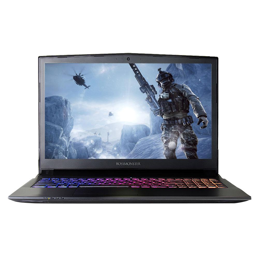 한성컴퓨터 노트북 BossMonster Lv.73S2 X57K (i5-7300HQ 39.62cm WIN미포함 8G SSD250G GTX1050 4G), 단일 색상