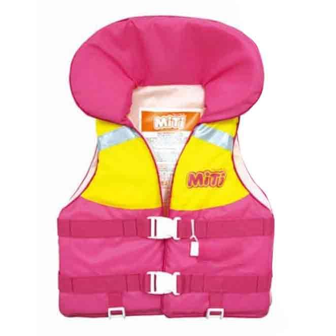 미티 수영보조용품 착용형 35kg, 핑크