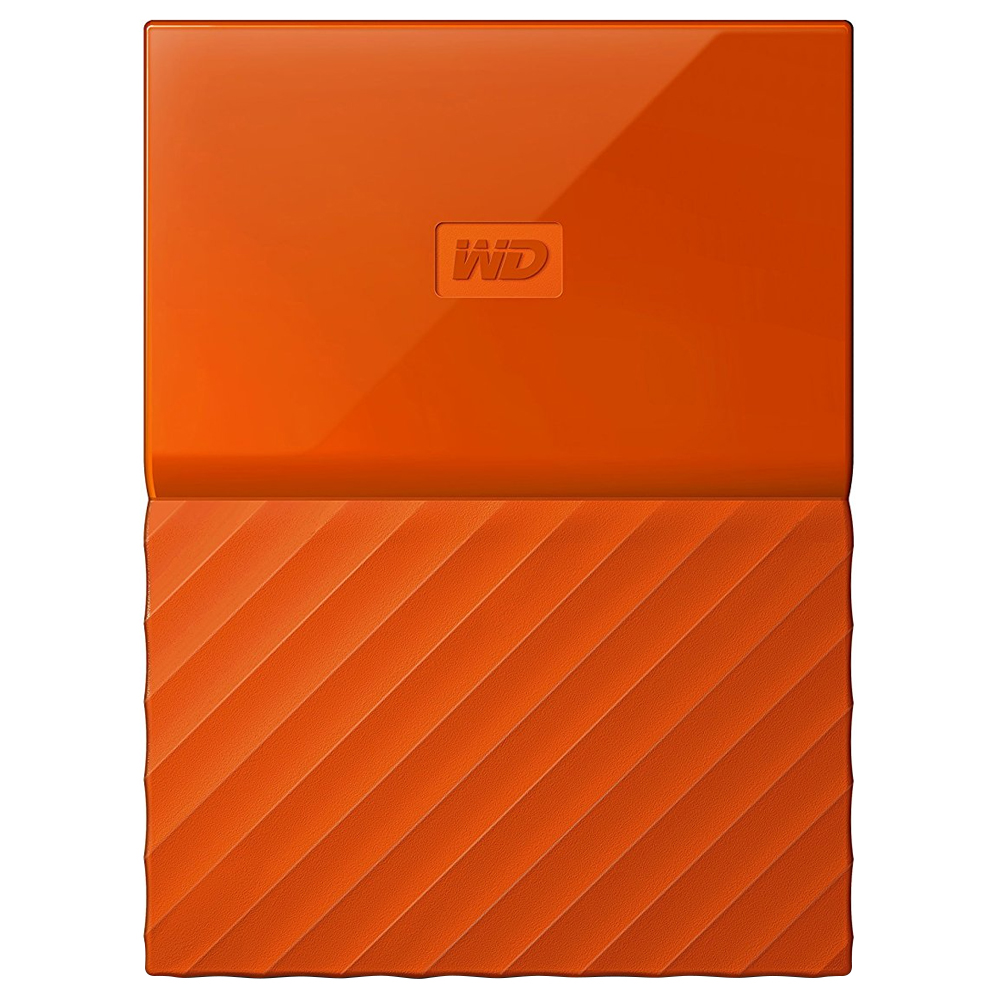 WD My Passport 휴대용 외장하드, 4TB, 오렌지