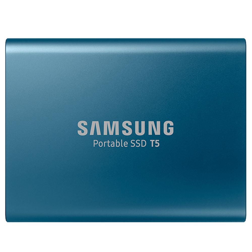 삼성전자 포터블 외장SSD T5 MU-PA250B/WW, 250GB, 블루 (POP 44854345)