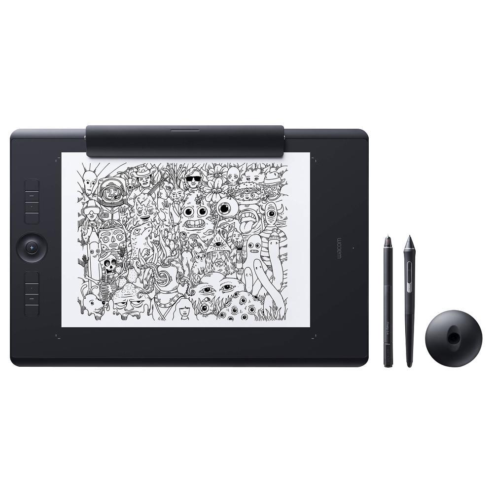 와콤 인튜어스 프로 페이퍼 에디션 타블렛, PTH-860P, 단일 색상