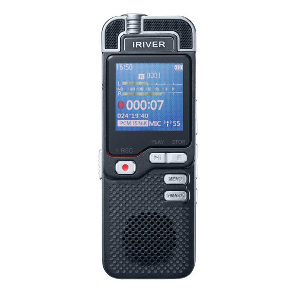 아이리버 보이스레코더 16GB, IVR-50, Black